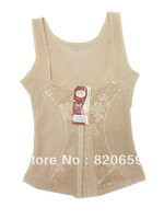Hot-selling drawing gauze abdomen slimming beauty care vest slim beauty care shaper vest female
