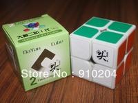 Free shipping!!Dayan Zhanchi 2x2 50mm Speed Cube White
