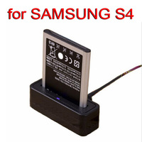 Free Shipping ( 2 piece / lot ) New USB Battery Cradle Dock charger for SAMSUNG Galaxy SIV S4 i9500 battery