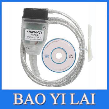 MINI VCI Interface FOR TOYOTA TIS Techstream V8.10.021, MINI VCI J2534 OBD2 diagnostic tool Car Code Scanner WA0068