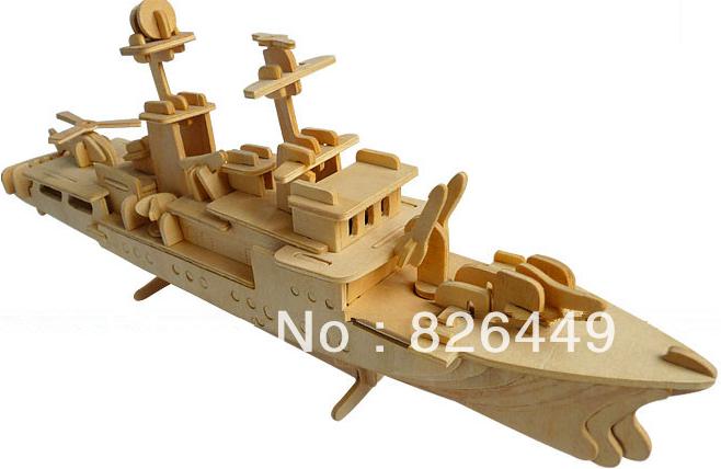 Vente en gros livraison gratuite en bois puzzle puzzle 3d bricolage. cruiser adultes jouets en bois jouets éducatifs puzzle en bois enfants