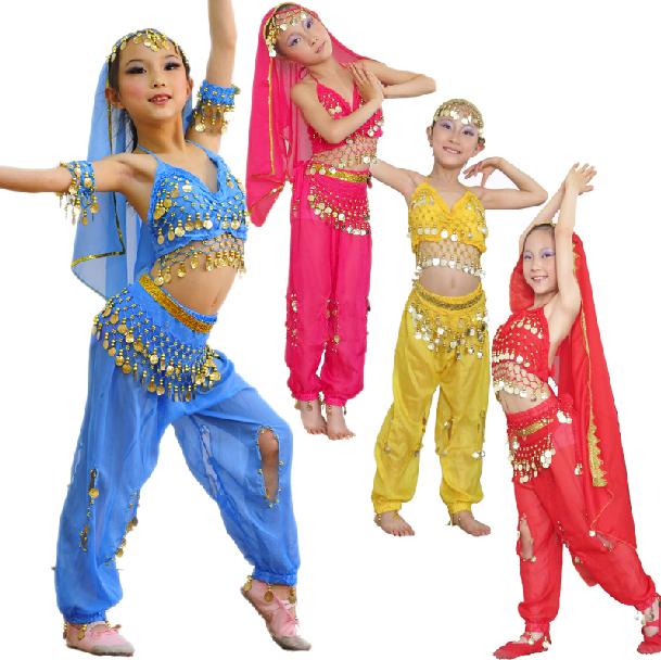 Индийский костюм для танца для девочки