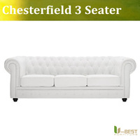 High quality Fabric  Chesterfield 3 seater Sofa modern sofa