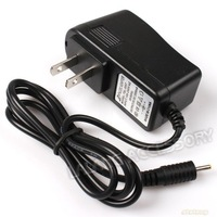 1PCPC Free shipping Wall Charger Universal Black US PC Power Adapter AC Charger 5V 2A for Android Tablet 740075