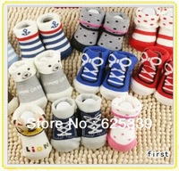 Newborn Baby Cartoon Modelling Socks Infants Baby Non-slip Cotton Socks Baby Socks Mix Designs