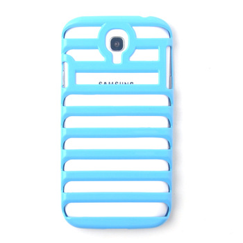 Hollow Out Ladder Shape Cellphone Plastic Back Cover Mobile Phone Case,Solid Color Hard Shell For Samsung Galaxy S4 i9500 (S IV)