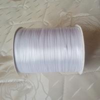 Nov sale ! Free shipping 3mm x 880 Yard double face ribbons satin ribbon wedding ribbon Color white #01