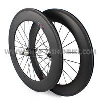 Freeshipping! U power rims! 700C 88mm full carbon bike tubular wheelset, cycling wheelset, YS-CC2-88T, free shipping!