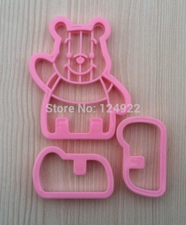Frete grátis 2013 Novas ferramentas de decoração do bolo , Winnie 3D Forma Sugarcraft do cortador Ferramentas Mold DIY(China (Mainland))