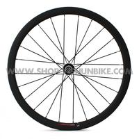 700C full carbon 38mm carbon clincher wheels, Toroidal design rims, YS-CC2-38C Freeshipping!