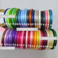 "Nov sale ! Free Shipping 0.25""(6mm) 600yard/lot Polyester fibber ribbon DIY Satin"