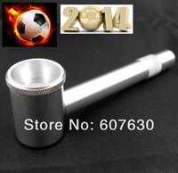 2PCS/LOT  MINI Pipe Metal Smoking Pipe  K7