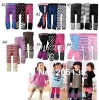 3pcs/lot 2014 Spring Autumn baby boy girls PP cotton pants Pantyhose Toddler kids Unisex warm cartoon leggings Trousers