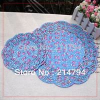 240pcs 10 packs 2-size 18cm 30cm Round Purple Paper Lace Doilies Placemat Craft Doyleys Wedding Tableware Party Decoration
