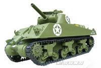 Freeshing RC Tank model ET603R Electric Tanks 1/6 M4A3 Sherman Tank - 105mm Howitzer EP RTR 2.4G 6 Channels