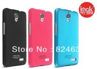 Genuine imak Slim Vivid Simple Hard Case Skin Back Cover +LCD Screen Guide For Alcatel One Touch Idol TCL S820