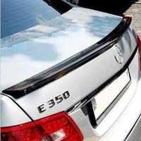 fit for Mercedes Benz E-CLASS W212 rear spoiler wing trunk lip CFRP real carbon fiber reinforced polymer