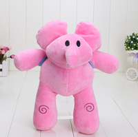 Pocoyo 30pcs 12inch /30cm new arrival Pocoyo PATO Soft Plush Stuffed Figure Toy Doll about flexible elephant pink elephant  hot