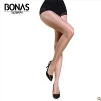 2014 Brand Women's Tights Glossy Singeing Rayon Fabric High Quality Lady Core-spun Yarn Invisible Pantyhose Tights SK104A2