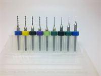 10pcs  Micro Drills Set 0.2mm - 1.2mm PCB Print Circuit Board Drill Bits CNC Drill Bits  dremel tools, cutter cnc drill free