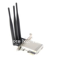 Atheros AR5BXB112 AR9380 PCI-E 1X PCI-E Wireless Desktop WiFi WLAN Card 450M Dual-band (2.4/5 GHz)