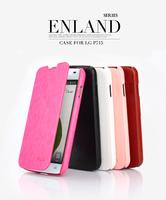 Original Genuine Brand ENLAND Series Luxury Leather Flip Case Cover For LG Optimus L7 II Dual P715