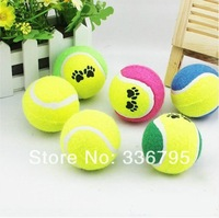 Free Shipping Pet teddy small dogs toy tennis ball