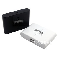 15600mAh power bank portable travel charger external battery with USB port for different cell phones