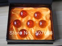 3sets 3.5CM New In Box DragonBall 7 Stars Crystal Ball Set of 7 pcs Dragon Ball Z Balls Complete set