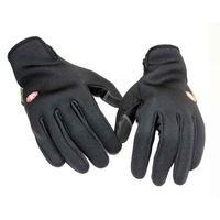 Professional Mountain Bike  Windproof  Warm Fleece Gloves Cycling Hiking Camping Slim Glove