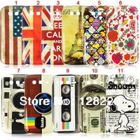 Free Shipping Hot Items US Flag Retro Cassette  Mix Designer Plastic Hard Cover Case for Samsung Galaxy Grand Duos I9082 I9080