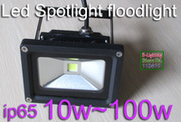 20W Spotlight spot lamp 100-240v waterproof IP65 LED black aluminium housing shell green yellow warm white pure white for option