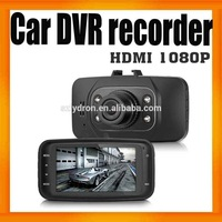 "DHL X3000 Car DVR Recorder Camera 2013 Newest Design Dual cameras with 2.7""LCD+GPS Logger+3D G-Sensor+drop shipping!"