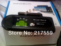 mini pc android quad core All Winner A31 mk809 1GB/8GB HDMI 2.4G wireless remote control