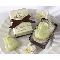 Retail And Wholesale  snow pear-shape Soap for Bath Body Wedding Gift scented decorative handmade soap