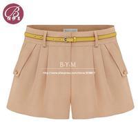Free shipping New 2014 Summer Hot Short Pants Women's Shorts Beach Shorts Pantskirt Culottes  Divided Skirt S-XXXL