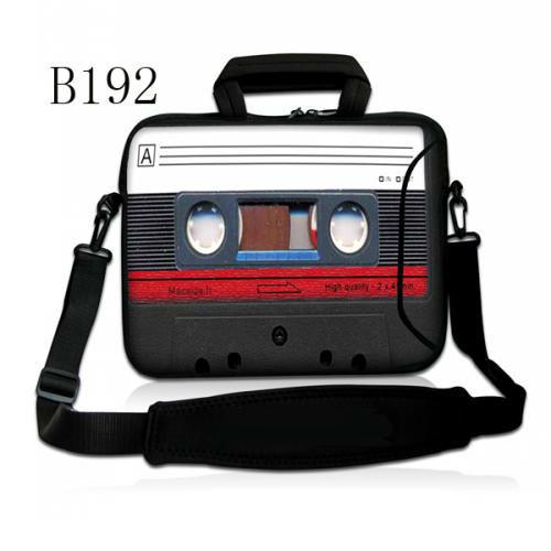 "Cassette tape 13"" Laptop Carry Case Bag Shoulder Bag For 13.3"" Toshiba Portege /Macbook Pro,Air(China (Mainland))"