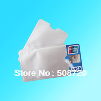 20pcs Anti Theft Credit Card Protector Aluminum RFID Blocking Secure Sleeve Protect your money and ID free shipping