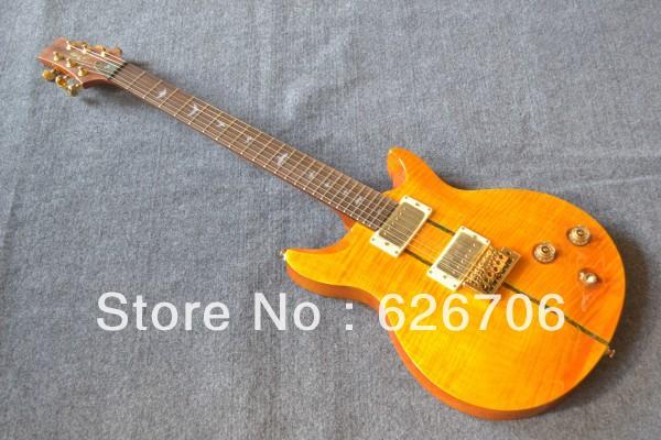 Wholesale - New Arrival PRS SANTANA Model electric Guitar yellow burst + Free shipping!(China (Mainland))