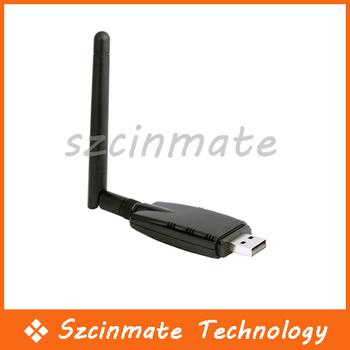 300M USB Wireless Network LAN Adapter Card WIFI 802.11n/g/b Antenna 30pcs/lot Wholesale