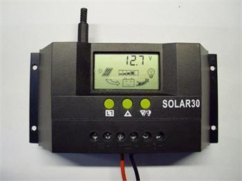30A Solar Panel Charger 30A 12V 24V Regulator Controller Safe Protection New(China (Mainland))