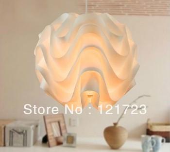 Brief modern restaurant lamp wave ball dining table pendant light lighting living room lamps pendant ball light
