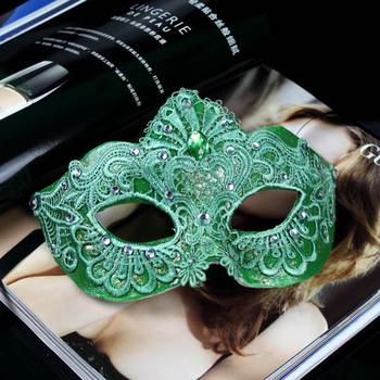 Pure luxury handmade lace diamond exquisite Venetian Masquerade MasksMasquerade