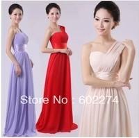 Elegant Purple Bride Long Design Formal Fresh Evening Dress