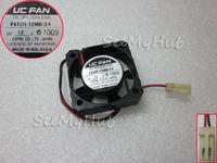 Free shipping For UC FAN 4010 F412R-12MB-24 12V 2 Line Ball CPU fan 40 * 40 * 10MM