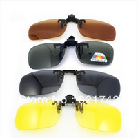 Wholesale Retail Polarized Sunglasses Clip on Eyeware for Myopia Fishing Driving for Day/Night use  Medium size