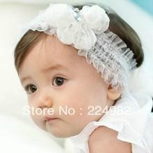 popular white headband bow