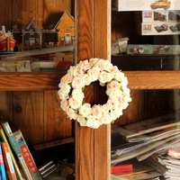 New house rose decoration hangings garishness door trim muons rose decoration for wedding and party