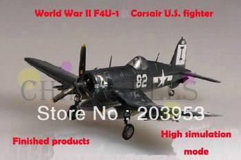 free ship 1/72 finished world war II USA F4U 1 Corsair US piston propeller fighter model military aircraft model