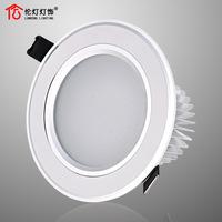 Led ceiling spotlights full set background wall lamps trepanned 8.5cm